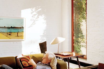 Architect Bill Ryall at home in Harlem, New York