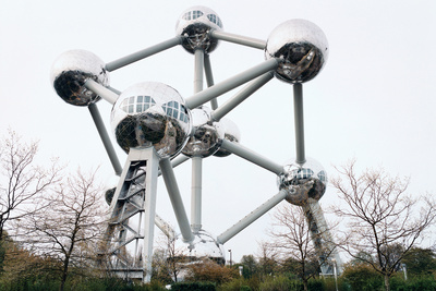 brussels belgium worlds fair atomium