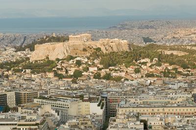 Athens, Greece cityscape