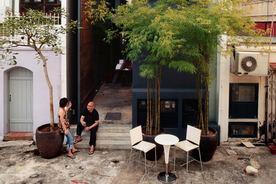 ching ian yang yeo house backyard patio