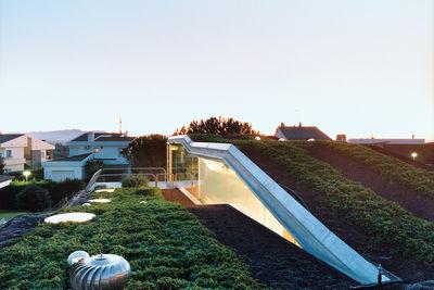 villa bio house hydroponic rooftop garden