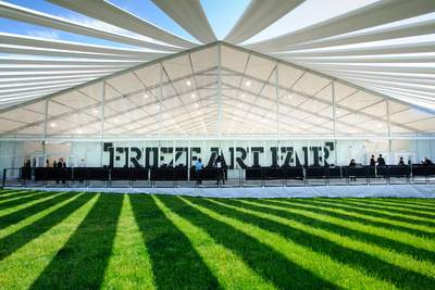 frieze art fair tent