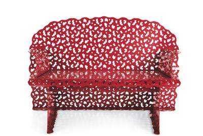 topiary love seat