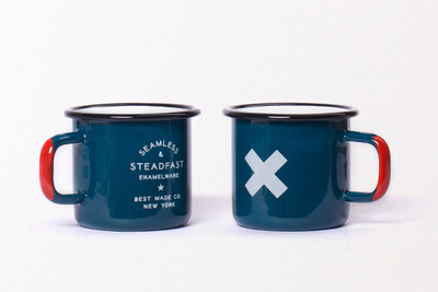 Enamelware mugs from Best Made Co