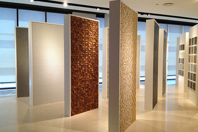 porcelanosa showroom tile floor