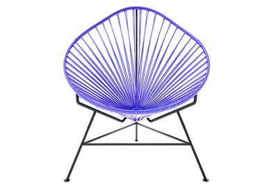 purple acapulco chair