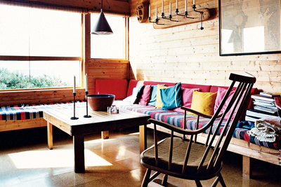 holm residence livingroom