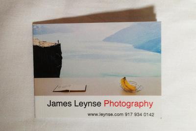 Photo promo by photographer James Leynse