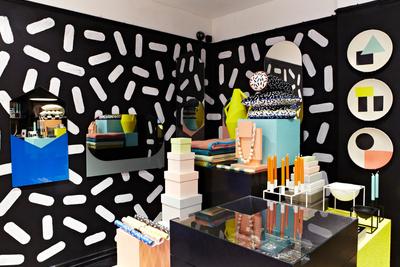 Ettore Sottsass memphis London Design Festival