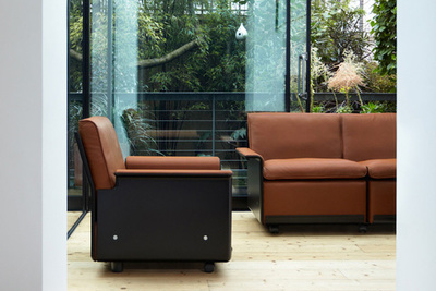 vitsoe new production 620 chair programme by dieter rams low back chair and sofa