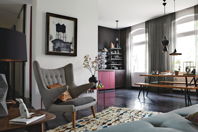 berlin apartment interior