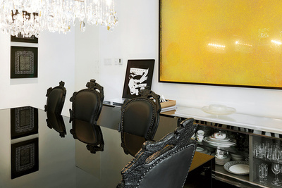 gans turin residence dining room