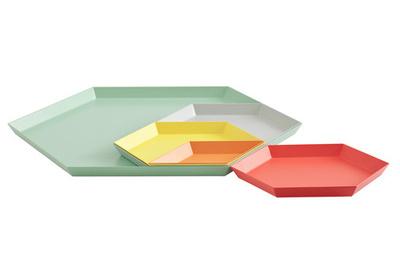 geometric tray is designed by Clara Von Zweigbergk