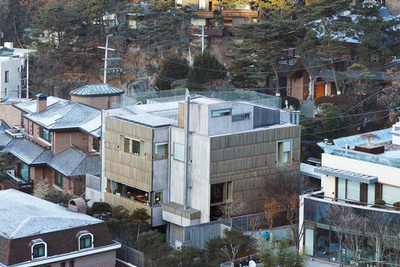 four box byoung-soo cho concrete house architect korea
