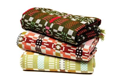 modern blankets by donna wilson