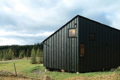 jarmund cabin nordmarka exterior