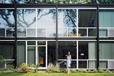 lafayette park house exterior lawn garden