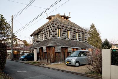 fujimori terunobu dandelion house exterior