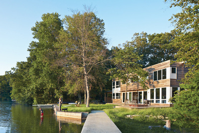 lake iosco house outside lake rec