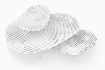 cloud tables nendo