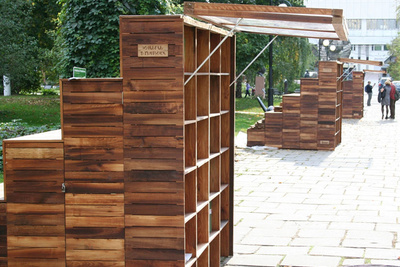 wood, books, bookshelves, storage, outdoor