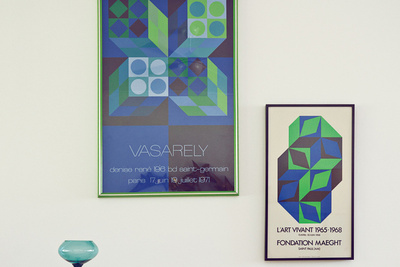 green blue posters