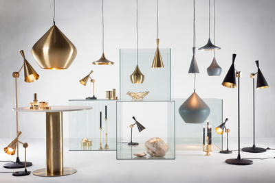 Tom Dixon lighting metal ICFF 2104