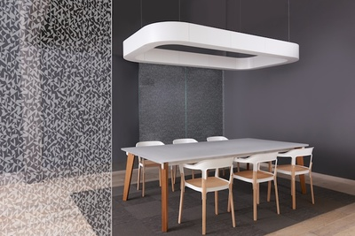 Pattern+ Glass System by 3Form at NeoCon 2014