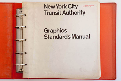 New York Transit Authority Graphics Standards Manual original