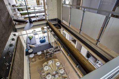 Maison Reciprocity mezzanine.