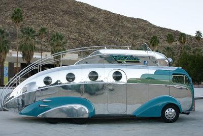 vintage trailer by gregg felsen