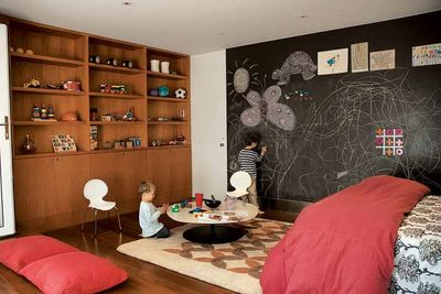 garage san francisco california bernstein cary interior playroom rec
