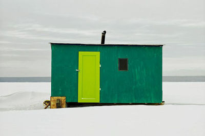 ice hut lesser slave lake