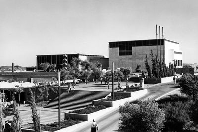 israel museum building 1965 opening