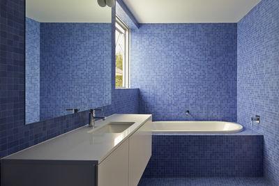 riverview house blue bathroom