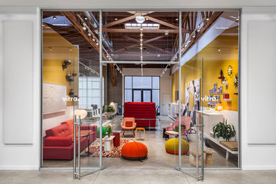 vitra los angeles showroom entrance
