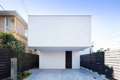 wave house exterior facade rec