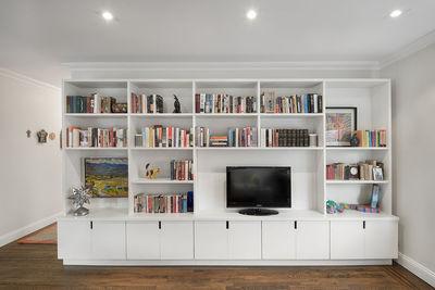 sweeten upper east side media unit living room