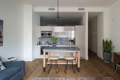 roost one bedroom kitchen living room matthew willams