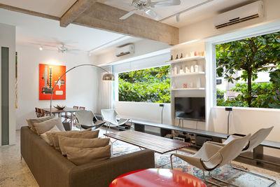 rio de janeiro bossa nova living room