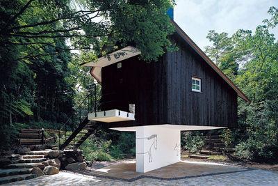 fujimori terunobu guest house exterior rec
