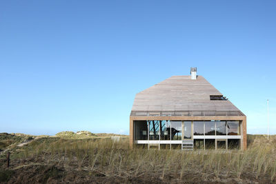 netherlands dune house wood exterior