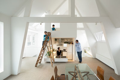 Maisonette in Amsterdam, designed by Mamm Design