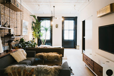 Dwell on Design Manhattan House Tour Tribeca loft