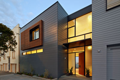 Facade of San Francisco remodel by Studio Vara.