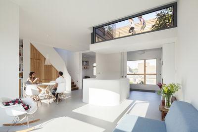 Gransden renovation living room