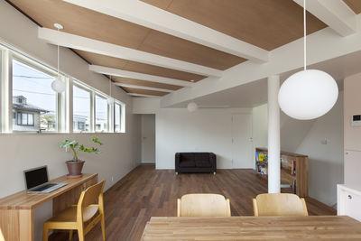 Half & Half House Living Area, Tokyo