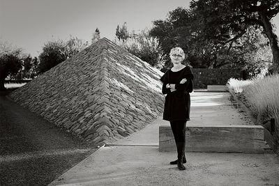 romancing the stone andrea cochran landscape architect portrait