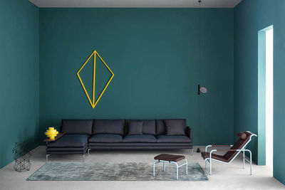Zanotta sofa and lounge chairs from Salone 2015