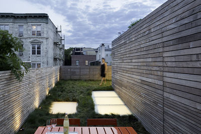 Modern West Village renovation with green roof